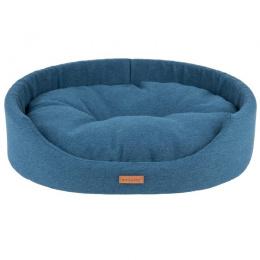 Guļvieta suņiem - AmiPlay Oval bedding Montana S, 46 X 38 X 13 cm, blue