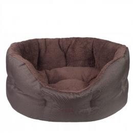Guļvieta suņiem - AmiPlay Colloseum Aspen S, 47 x 40 x 21 cm, brown