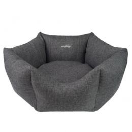 Guļvieta suņiem - AmiPlay Crown Palermo M, 58 x 23 cm, dark grey