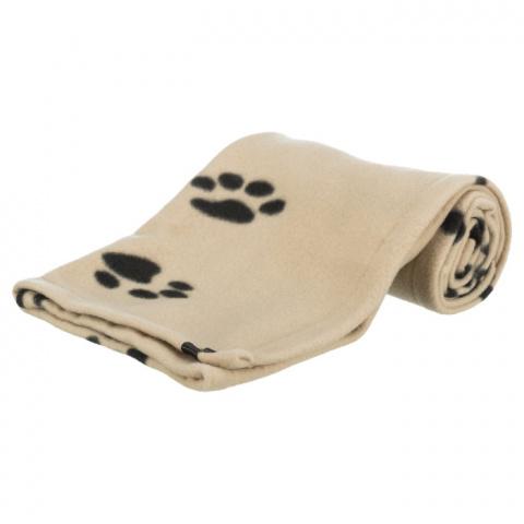 Guļvieta suņiem – TRIXIE Beany Blanket, 100 x 70 cm, Beige title=