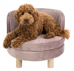 Спальное место для собак – TRIXIE Livia Sofa, 48 x 40 см, Antique Pink