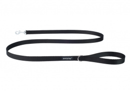 Pavada – AmiPlay Leash Basic M, 150 x 1,5 cm, melna