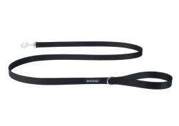 Pavada – AmiPlay Leash Basic S, 150 x 1 cm, melna