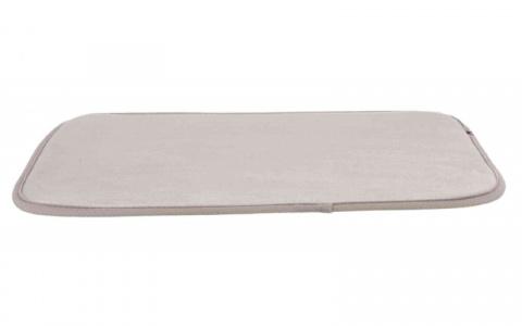 Guļvieta suņiem – TRIXIE Lying Mat for Skudo 4 Transport Box, 36 x 56 cm, Grey title=