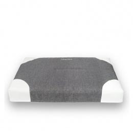 Guļvieta suņiem - AmiPlay Mattress Zip Clean Classic XL, 100 x 75 x 10 cm, dark grey