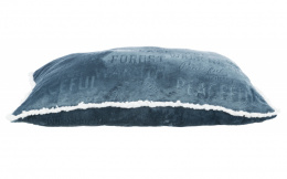 Спальное место для собак – TRIXIE Paul Cuhion, 80 x 60 см, Blue/White