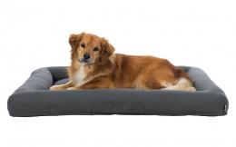 Guļvieta suņiem – TRIXIE Pulito Vital Bed, 100 x 80 cm, Grey