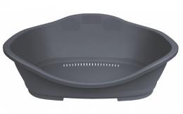 Guļvieta suņiem – TRIXIE Sleeper Plastic Bed, 68 x 47 cm, Dark Grey