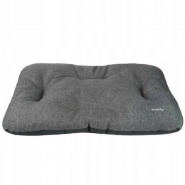 Guļvieta suņiem - AmiPlay Rectangular Cushion Palermo M, 55 x 45 x 6 cm, dark grey