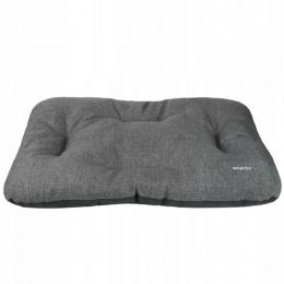Guļvieta suņiem – AmiPlay Rectangular Cushion Palermo XL, 95 x 75 x 10 cm, dark grey