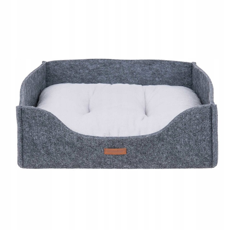 Guļvieta suņiem - AmiPlay Sofa 2 in 1 Hygge M, 51 x 41 x 16 cm, grey