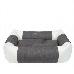 Guļvieta suņiem - AmiPlay Sofa ZipClean 2 in 1 Classic M, 68 x 56 x 18 cm, dark grey