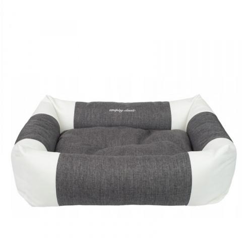Лежанка для собак – AmiPlay Sofa ZipClean 2 in 1 Classic L, 78 x 64 x 19 см, dark grey title=