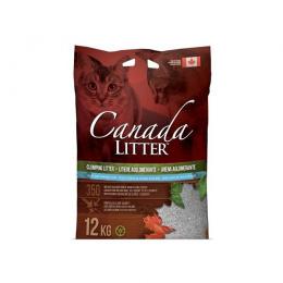 Cementējošās smiltis kaķu tualetei - Canada Litter, 12 kg