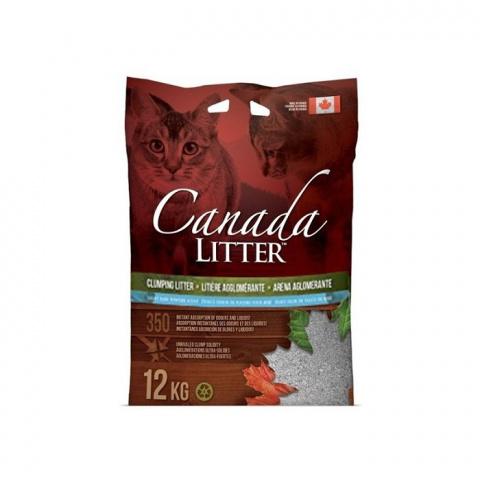 Цементирующий песок для кошачьего туалета - Canada Litter, 12 кг title=