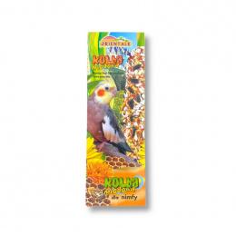 Лакомство для птиц - Orientale Kolba Honey Bar for Meedium Parrots