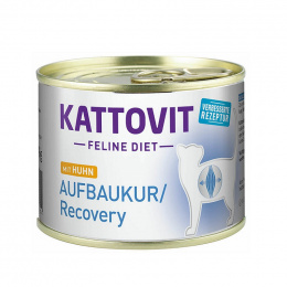 Ветеринарные консервы для кошек - Kattovit, Can Recovery Chicken, 185 г