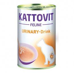 Veterinārie konservi kaķiem – Kattovit Drink Urinary, 135 ml