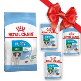 Dāvanu komplekts - Royal Canin Mini Puppy Kit