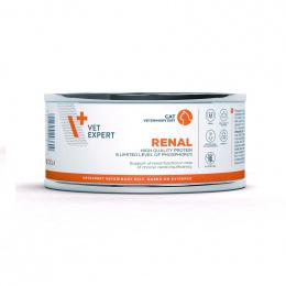 Veterinārie konservi kaķiem – VetExpert 4T VD RENAL, 100 g