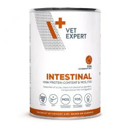 Veterinārie konservi suņiem – VetExpert 4T VD INTESTINAL, 400 g