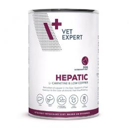 Veterinārie konservi suņiem – VetExpert 4T VD HEPATIC, 400 g