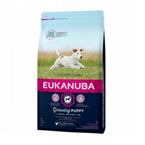Корм для щенков - Eukanuba Puppy Small Breed, 2 кг title=