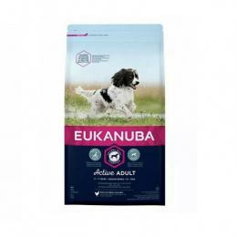 Корм для собак - Eukanuba Adult Medium, 2 кг