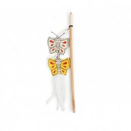 Rotaļlieta kaķiem – AFP Catoon Wand Butterflies