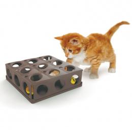 Rotaļlieta kaķiem – Avesa TRICKY cat toy with 2 balls, 25 x 25 x 9 cm