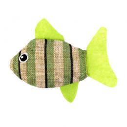 Игрушка для кошек – Pawise Striped Cat Toy, Fish