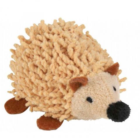 Rotaļlieta kaķiem - Trixie, Tassel hedgehog, plush, 8 cm title=