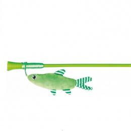 Rotaļlieta kaķiem - Trixie Playing Rod with Fish, 42 cm