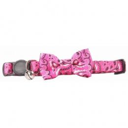 Kakla siksna kaķiem – Pawise Cat Collar Bowknot, Pink