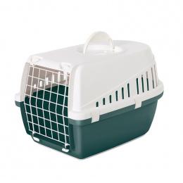 Transportēšanas bokss dzīvniekiem – Savic, Trotter 1, Nordic green - white, 49 x 33 x 30 cm