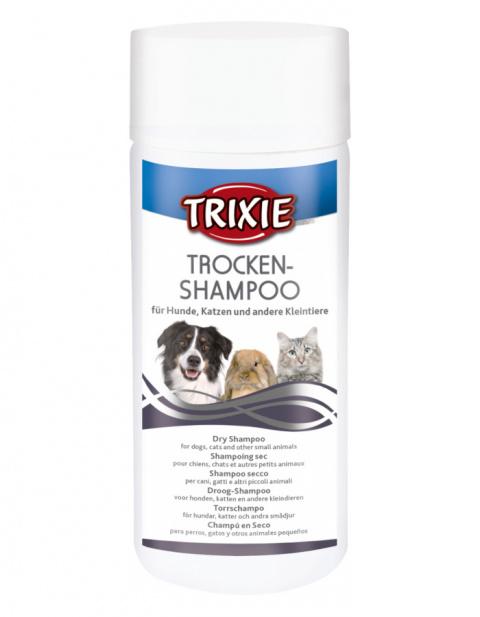 Шампунь-пудра для животных – Dry Shampoo, 100 г title=