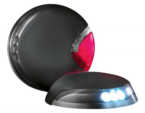 Светодиодное освещение для поводка-рулетки – Flexi LED Lighting System S/M/L, Black title=