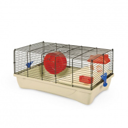 Клетка для хомяков - MPS2, HAMSTER 10 flat NATURE, 58 x 32 x 26 см