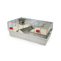 Клетка для грызунов - MPS2, HAMSTER 101 flat NATURE, 100 x 53 x 40 см