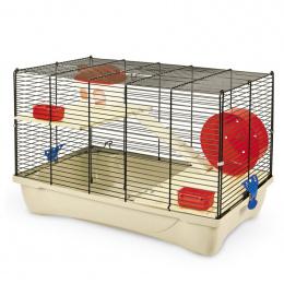 Клетка для грызунов - MPS2, HAMSTER 11 flat NATURE, 58 x 32 x 38 см