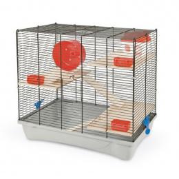 Клетка для грызунов - MPS2, HAMSTER 12 flat NATURE, 58 x 32 x 54 см