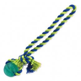 Rotaļlieta suņiem – Dog Fantasy Dental Mint Baseball with Cotton Rope, 5 x 30 cm