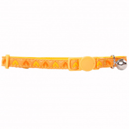 Ошейник для кошек – Pawise, Cat collar - heart, yellow