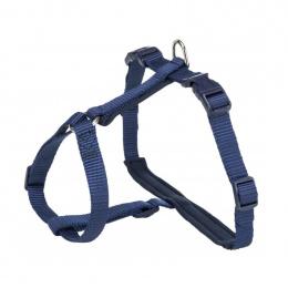 Шлейка с поводком для кошек – Trixie, Premium cat harness with leash, 33-57 см /13 мм, 1,20 м, indigo