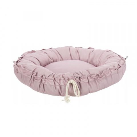 Лежанка для кошек и собак – Trixie, Felia bed/cushion, round, 50 см, pink title=