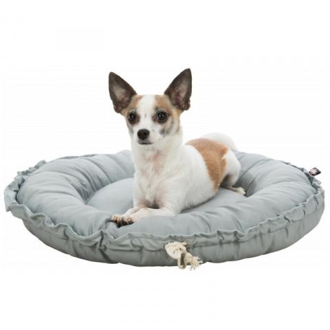 Лежанка для кошек и собак – Trixie, Felia bed/cushion, round, 50 см, grey title=