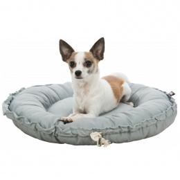 Лежанка для собак - Trixie, Felia bed/cushion, round, 50 см, grey