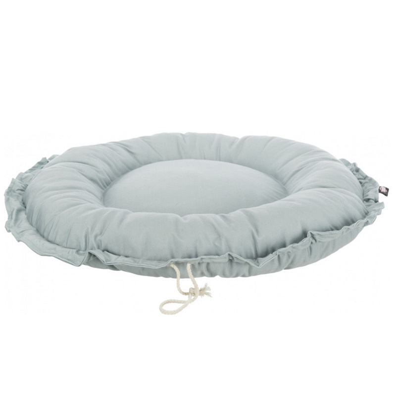 Лежанка для кошек и собак – Trixie, Felia bed/cushion, round, 50 см, grey