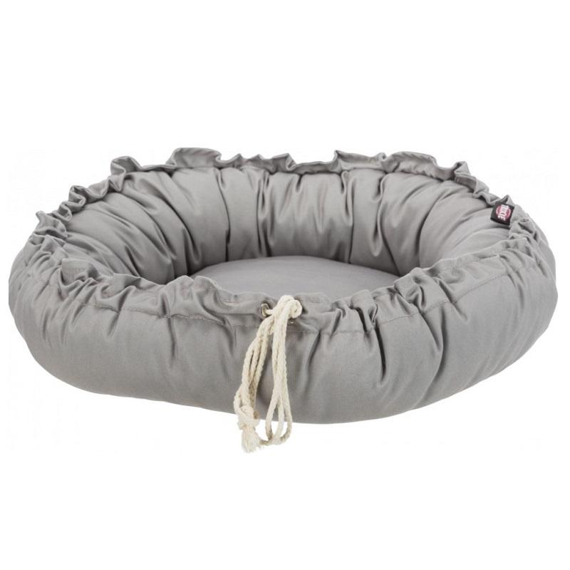 Лежанка для кошек и собак – Trixie, Felia bed/cushion, round, 60 см, taupe