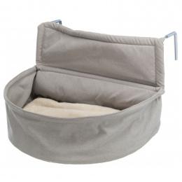 Лежанка для  кошек - Trixie, Radiator Cuddly Bag XXL, plush and fabric 55 x 15 x 36 см, brown and taupe